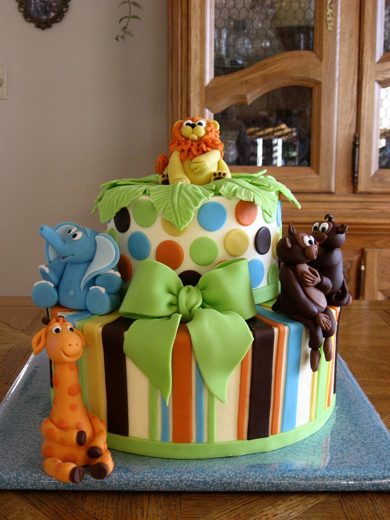King Of The Jungle Baby Shower Cake Finally Lol This