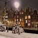 Magical winter wonderland in Amsterdam