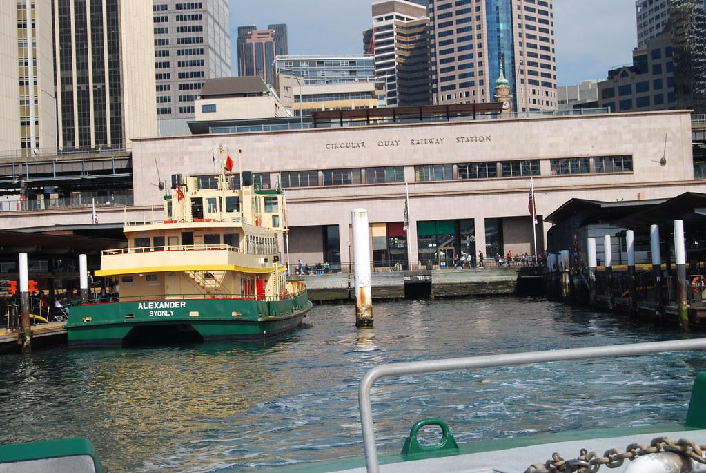 Ferry Circular Quay To Cockatoo Island