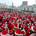 Lots of Santas at City Hall - San Francisco SantaCon 2010