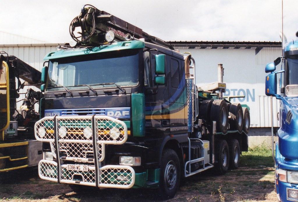 Daf 95xf 6x4 Tracteur Grumier Du Vercors 26 Photo