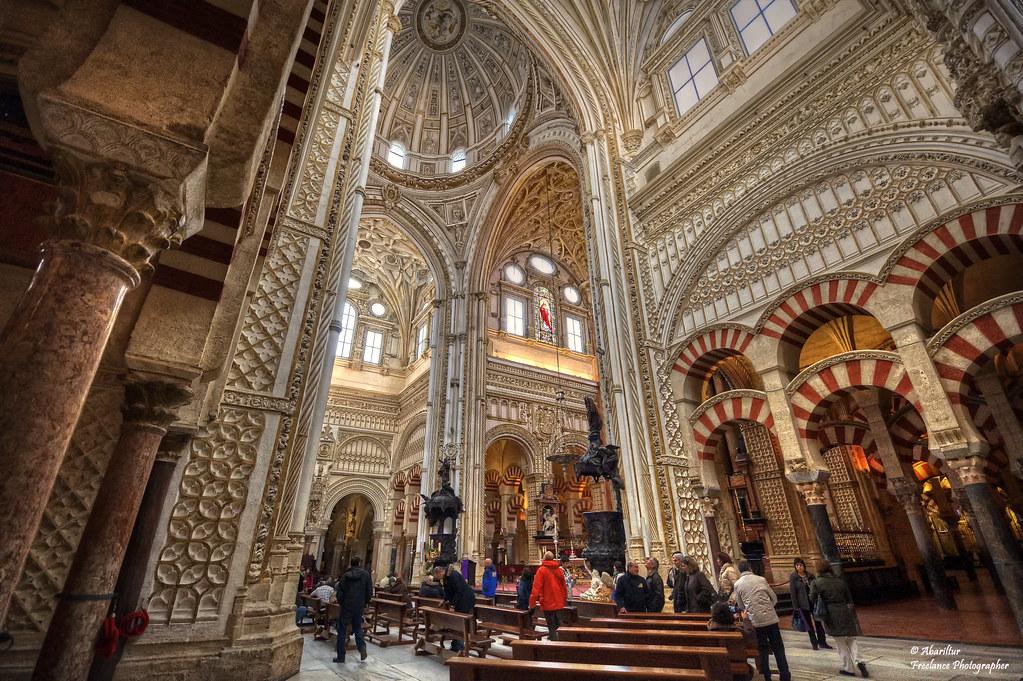La mezquita de c rdoba mezquita y catedral i la - Mezquita de cordoba de noche ...