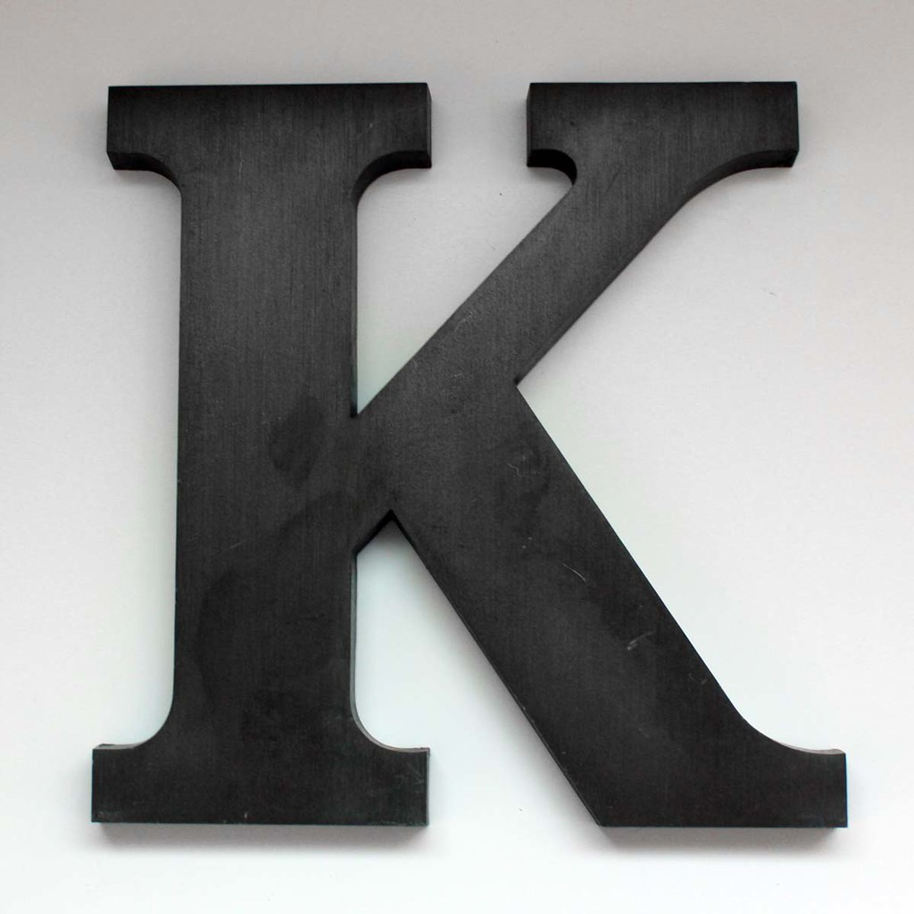 letter k large 2 this is a vintage letter k from the