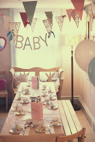 BABY SHOWER TEA PARTY FOR SARAH | by bake-a-boo