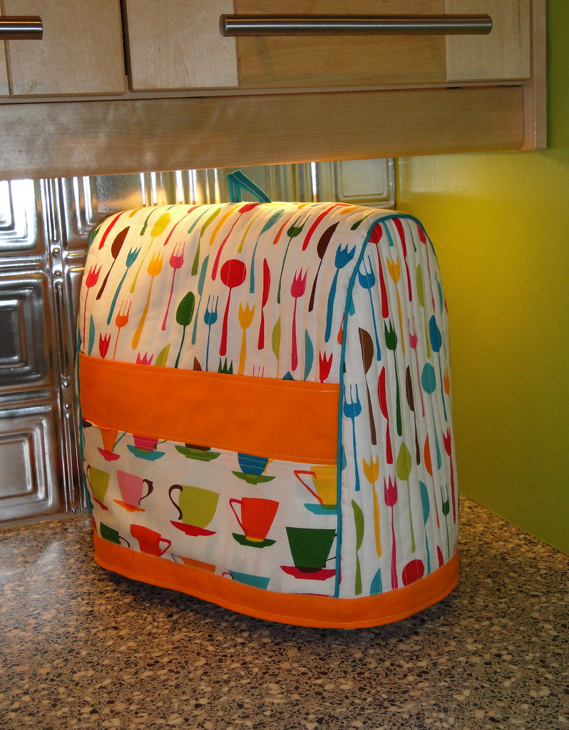 Kitchenaid mixer cover cozy a friend asked me to make for Crafts to make for sale
