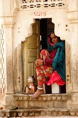 Rajasthani lady, Jaipur, Rajasthan, India by hollyblake84