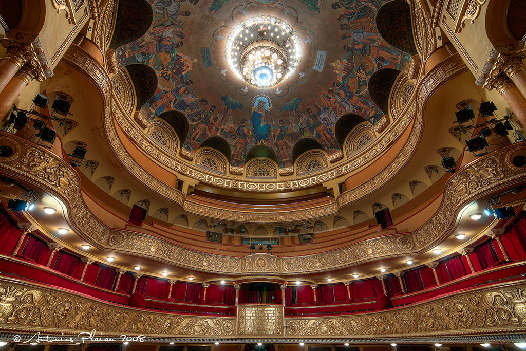 Timisoara - Inside of the Opera House | TIMISOARA - Sala