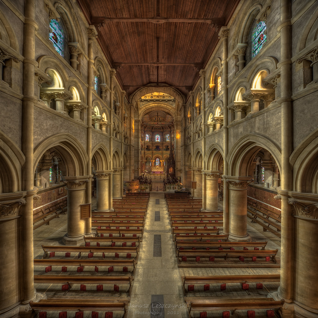 Saint Fin Barres Cathedral View From Choir Saint Fin