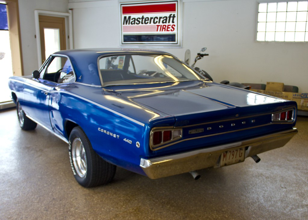 1968 Dodge Coronet 440 | Can be seen at NL Auto Repair 517 S… | Flickr