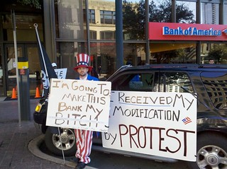 Bank of America Protester | by Todd Dwyer