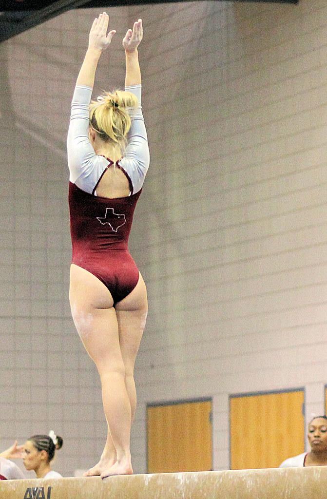 Twu Gymnastics Beam Brittany Johnson Sophomore