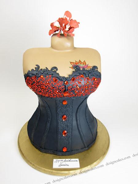 Corset Cake Pan