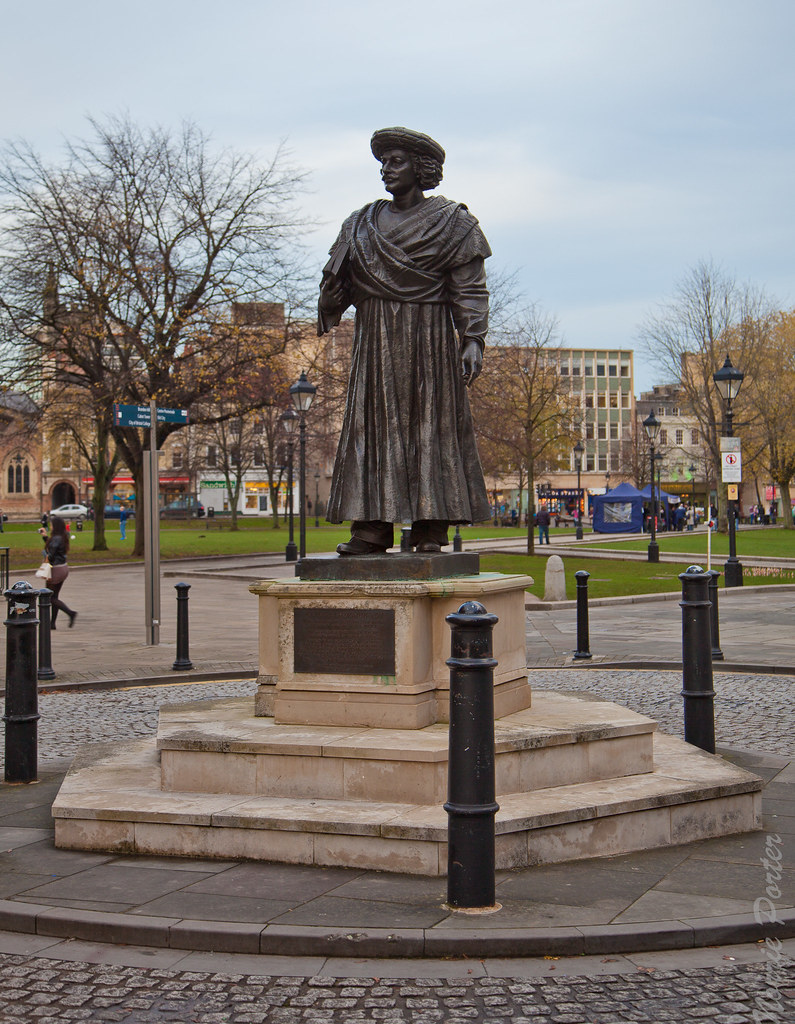 Bristol Statue Of Raja Ram Mohan Roy College Green Flickr