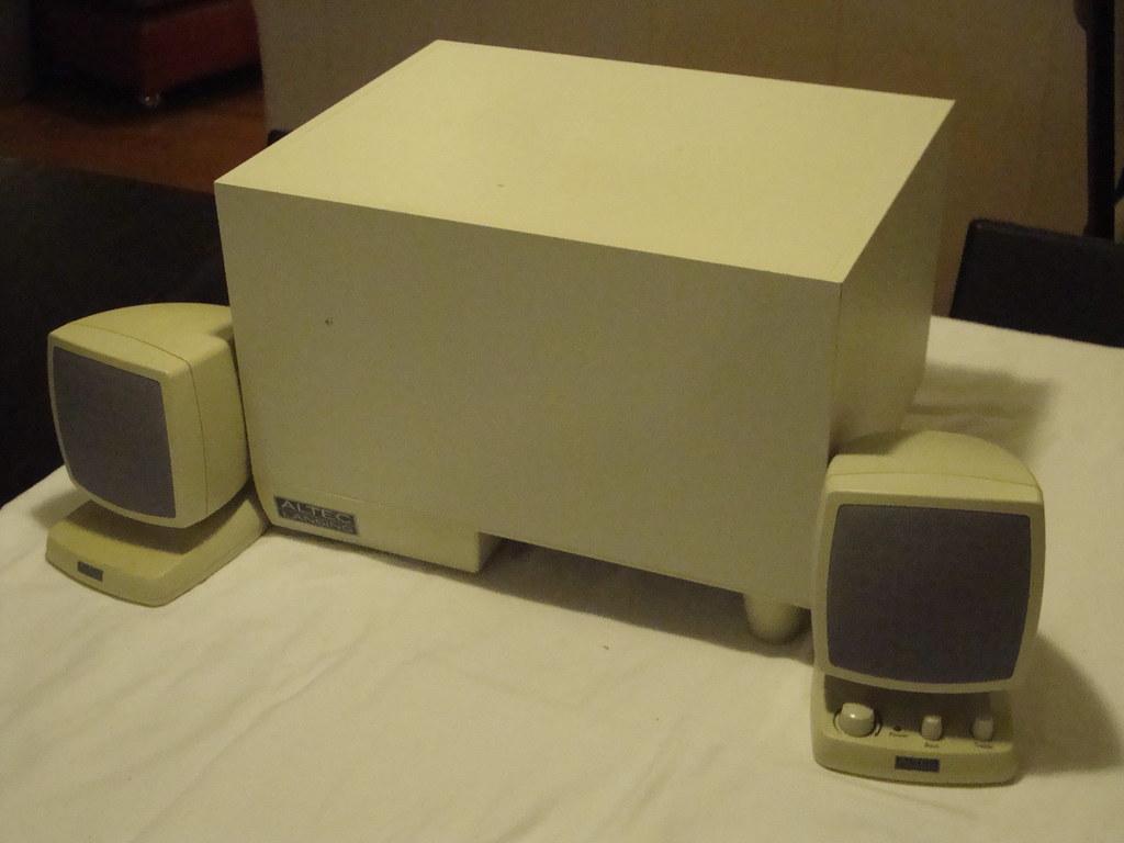 Altec Lansing computer speakers and subwoofer | deliakong | Flickr