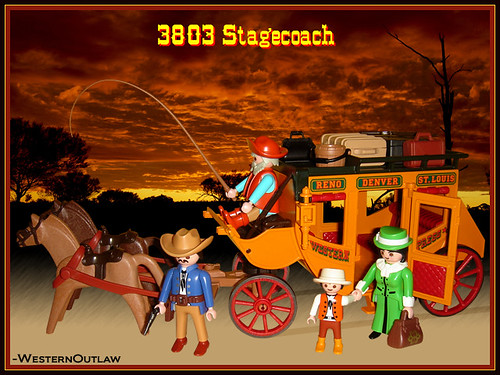 Playmobil 3803 Stagecoach Flickr Photo Sharing