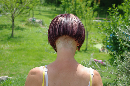 Mid Bob Shaved Nape Articles. Lovely