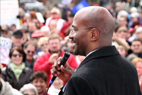 Van Jones Speaking at the at the Save the American Dream Rally in Washington DC February 26 2011 | by markn3tel