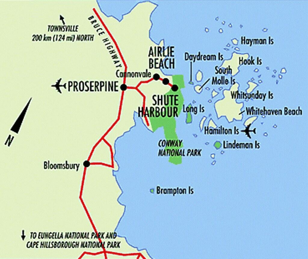 Towns Near Airlie Beach