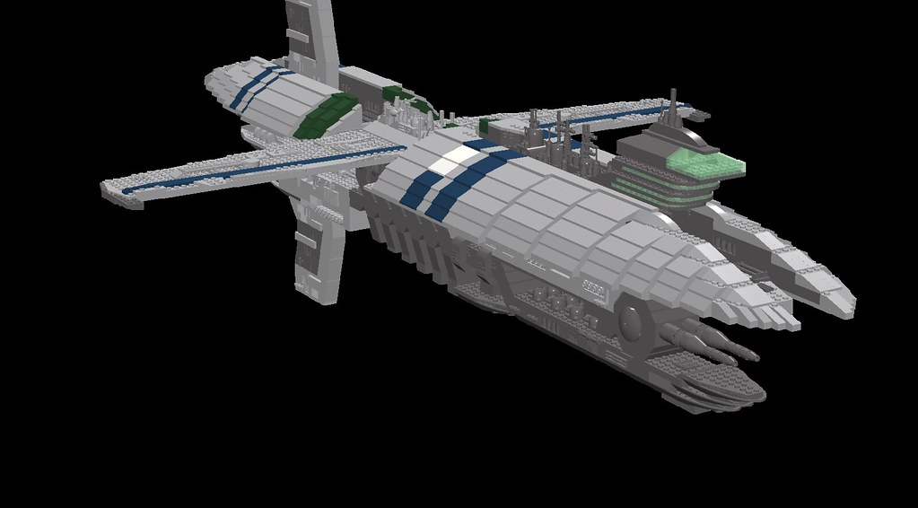 Munificent class frigate with the lego digital designer - Croiseur star wars lego ...