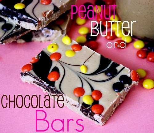 pb bars | by cookbookqueen
