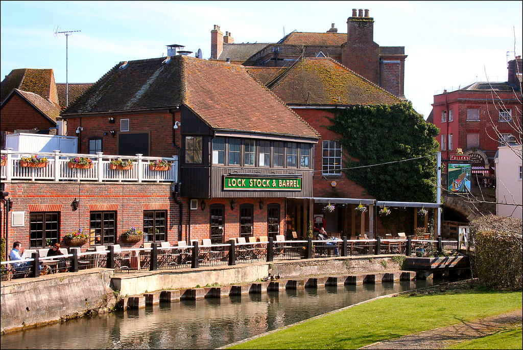 Lock Stock And Barrel Newbury Pub Restaurant In