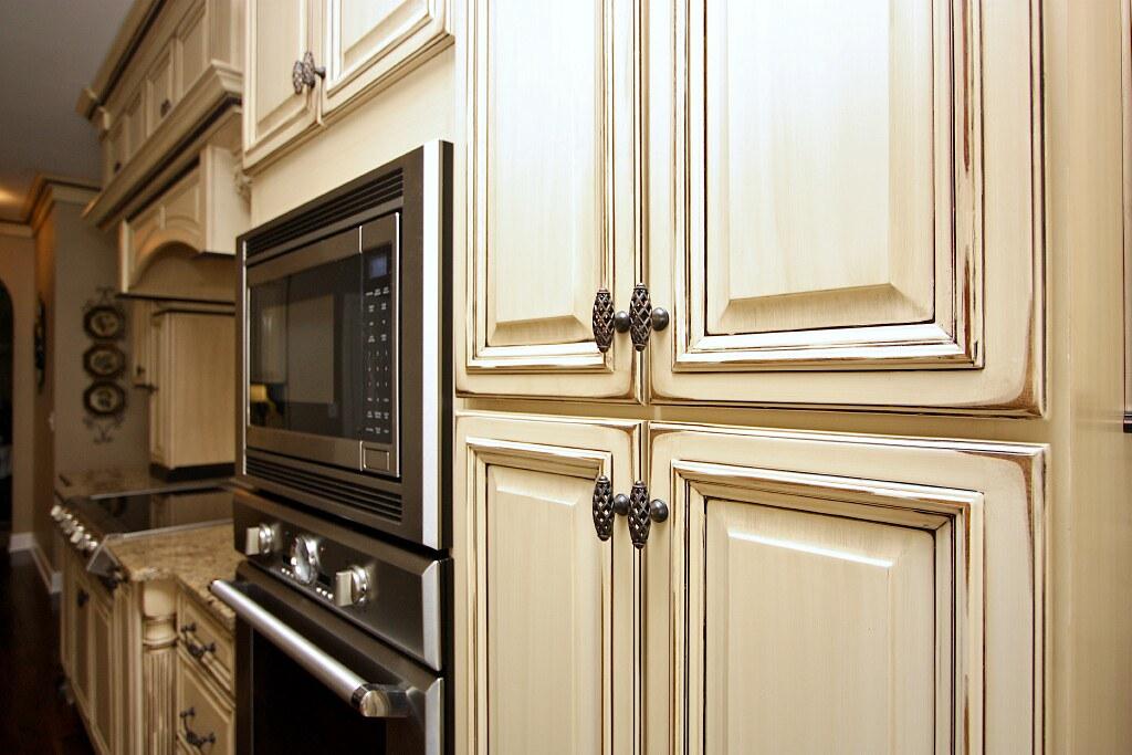 Kitchen cabinets glaze and distress (5) | Superior ...