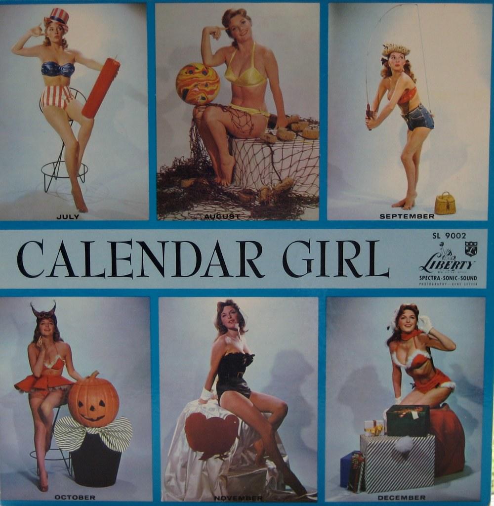 Calendar Girly : Calendar girl — julie london john purlia flickr