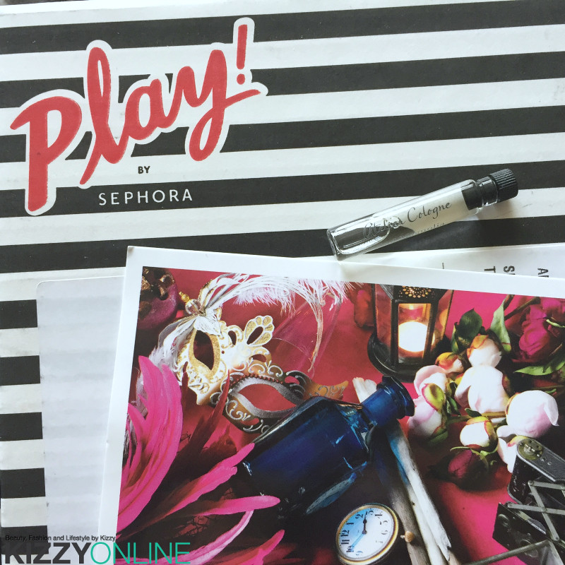 Sephora Play subscription box September 2016 month