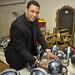 Tony Gonzalez Signs Helmets