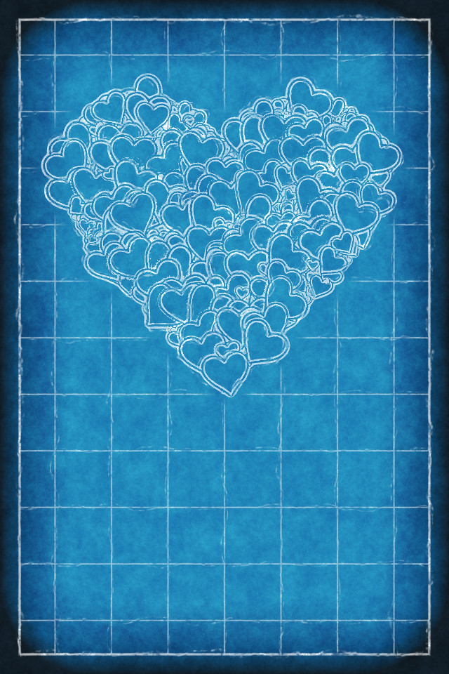 All Sizes Iphone Background Heart Blueprint Flickr