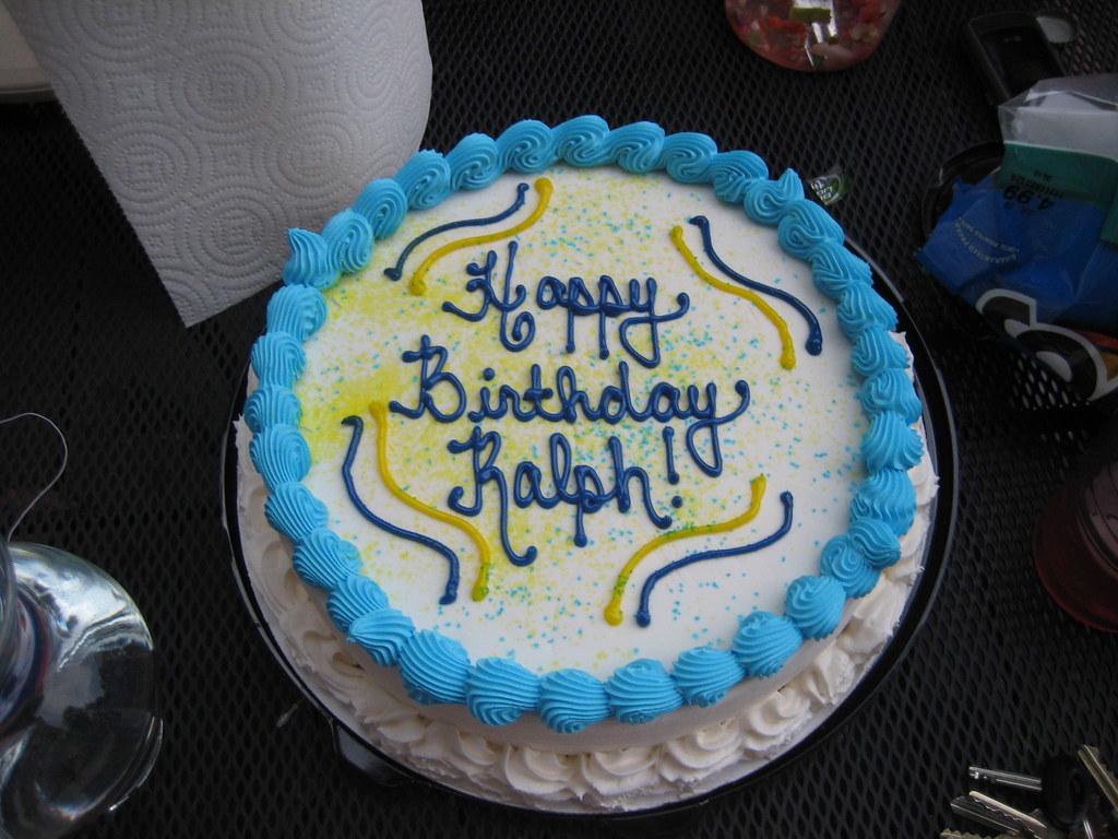 Happy Birthday Ralp Cakes