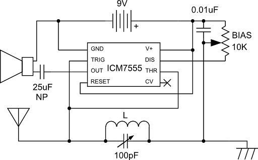 555 Radio Schematic See Tubetime Us P 85 For Details