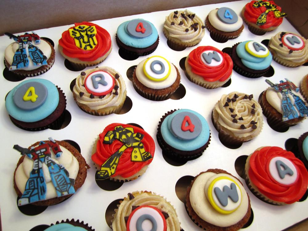Transformers Cupcakes Mindy Bortz Flickr
