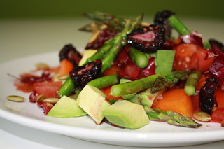 Chopped Salad with Blackberry Vinaigrette | by VegaTeam