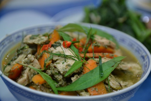 Jungle Curry Chicken with Vietnamese Mint, Kaffir Lime Leaves | Flickr ...