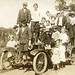 How many kids can you fit on a vintage automobile? (1904-1918)
