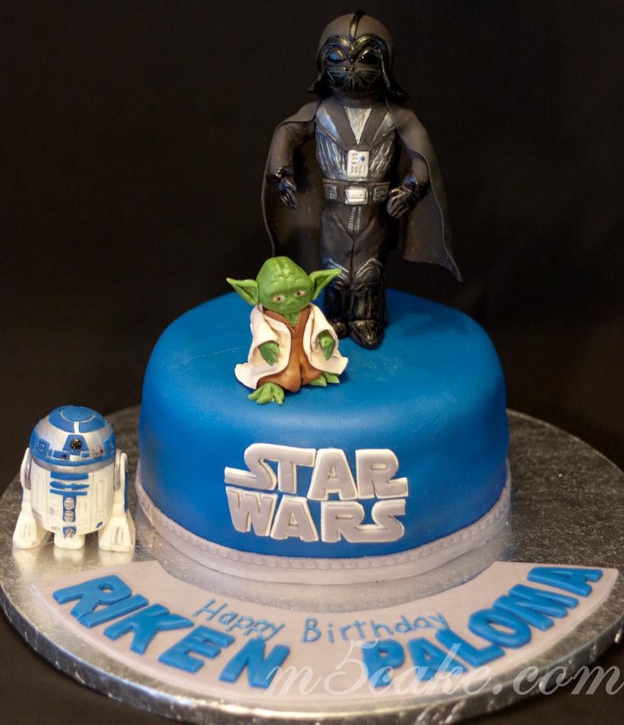 Star Wars Cake 1 Star Wars Cake And R2d2 Sugar Cookies