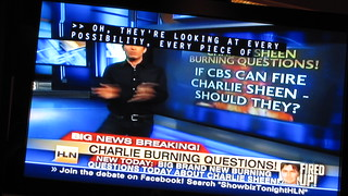 Charlie Sheen is on Fire | by eviloars