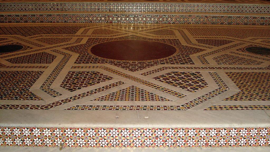 Mosaico pavimento del duomo di monreale marina mazzeo for Disegni unici del pavimento