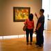 Van Gogh's Night Café With Viewers