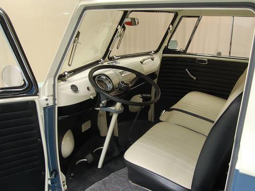 1965 Volkswagen Kombi Bus Inside Carandclassic Co Uk