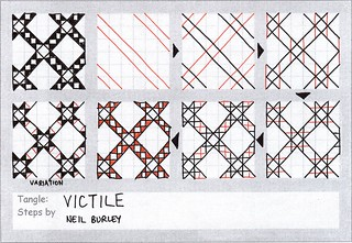 Victile - tangle pattern | by perfectly4med