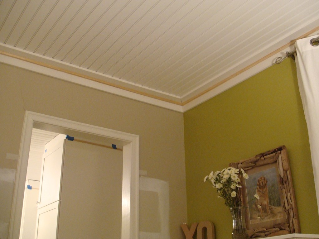 Living Room Ceiling Trim Is Installed needs Paint Flickr