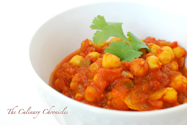 Channa Masala (Spicy Chickpea Curry) | Flickr - Photo Sharing!