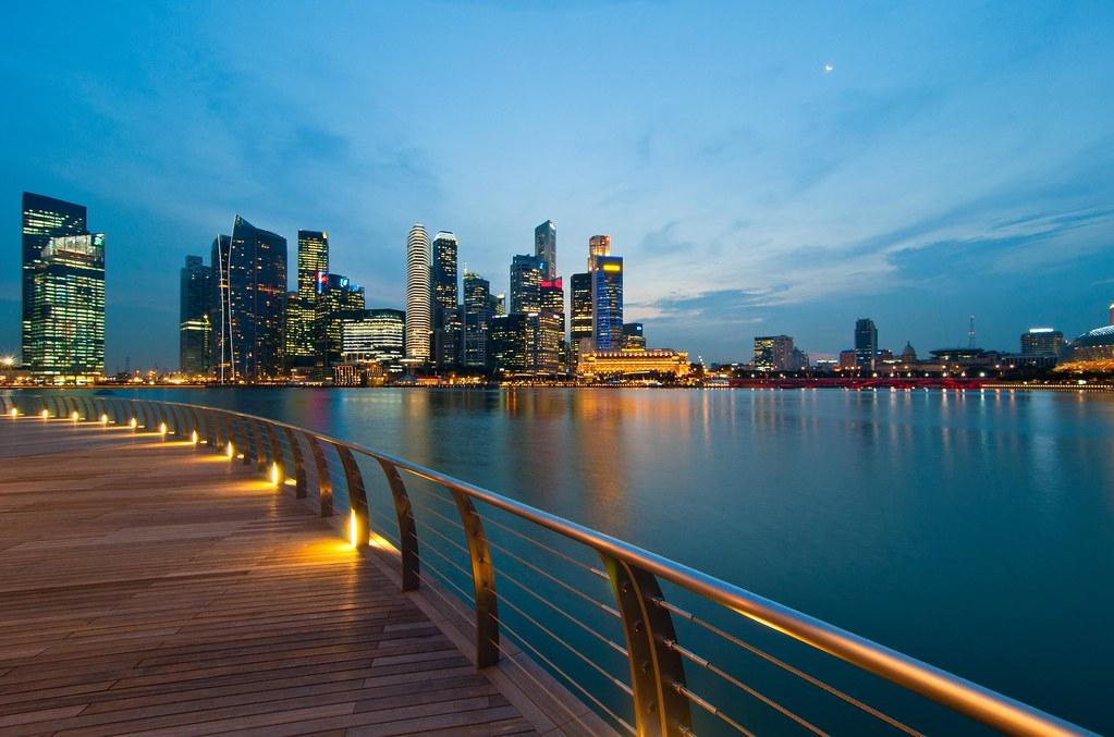 Cbd From Marina Bay Sands