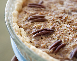 "Coconut Pecan ""Why Not"" Pie with Walnuts and Toffee 