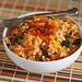 korean inspired rice bowl