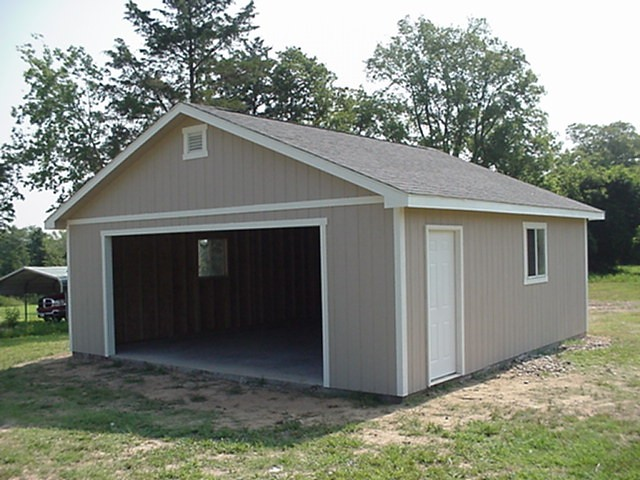 24x24 premier pro ranch garage tuff shed flickr for Two car garage shed