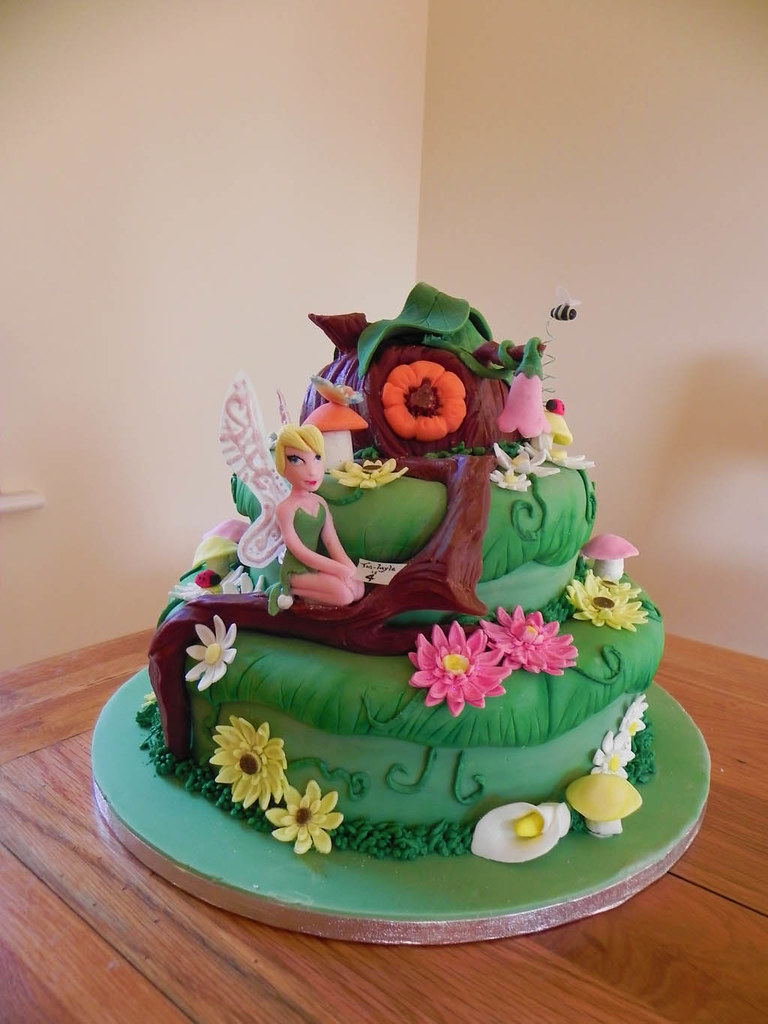 Tinkerbell fairy Peter Pan Cake The only think not ...