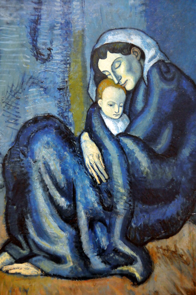 Pablo Picasso - Mother and Child at Harvard Art Museum Cam ...